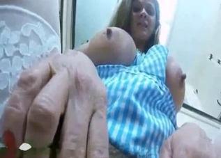 Incest aftermath - gaping holes up close
