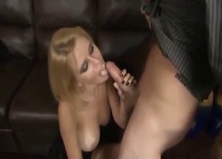 Black dress blonde fucking her brother