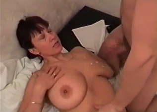 Dark-haired hottie loves incest fucking