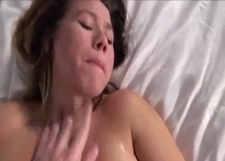 Hairy pussy hottie begs for more in this incest clip