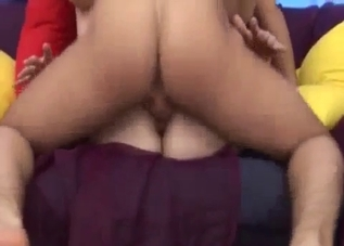 Hairy pussy mommy gets her ass destroyed