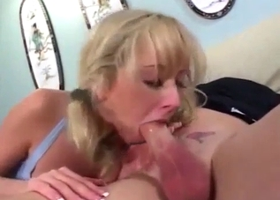 Pigtailed beauty fucking her sexy brother