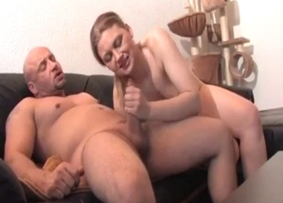 Short-haired MILF enjoys cock-riding on cam